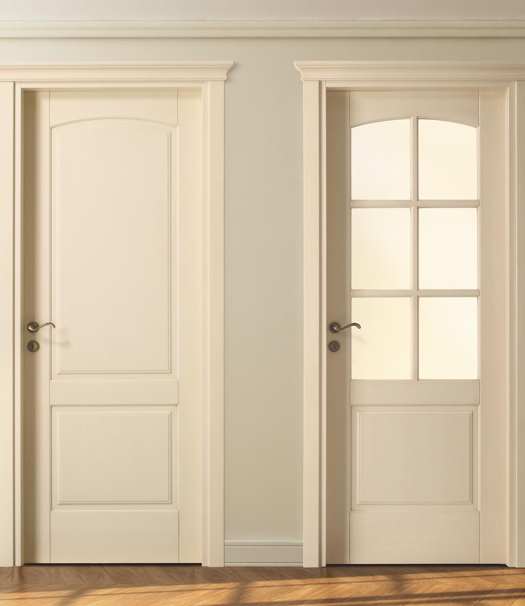 Juego de manillas bronce maria 803 escenarios de puerta for Manillas puertas interiores