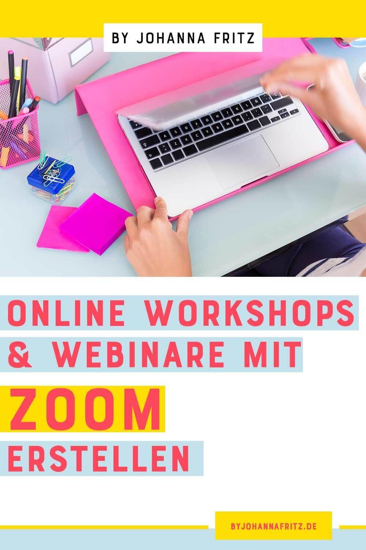 Webinare, Online und Meetings mit Zoom erstellen