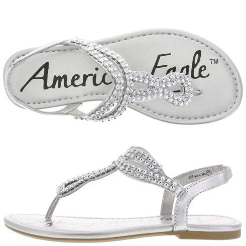 payless silver sandals girls - Google