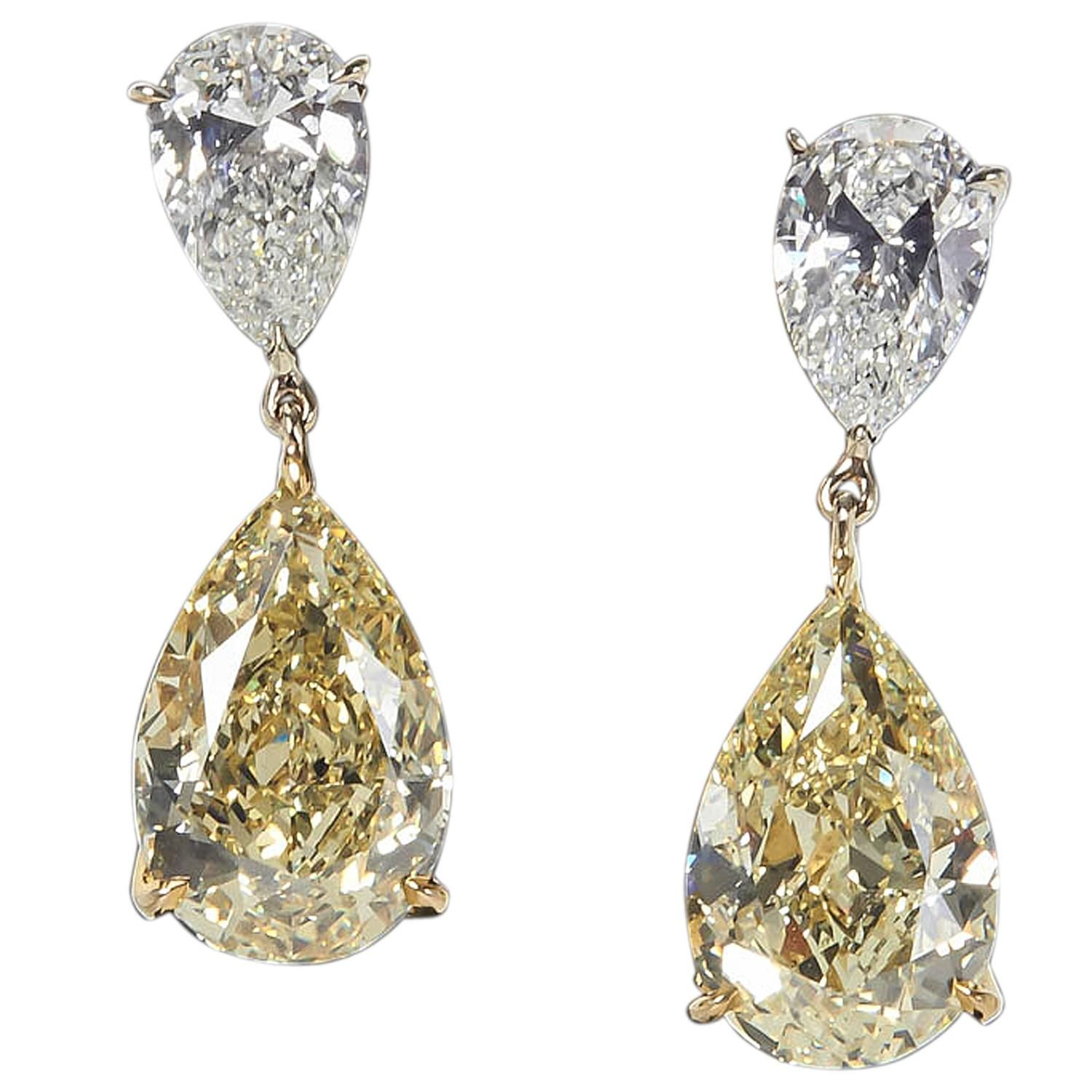 clear means zirconia karat earrings design cubic with accents gold carat chandelier choosing circle