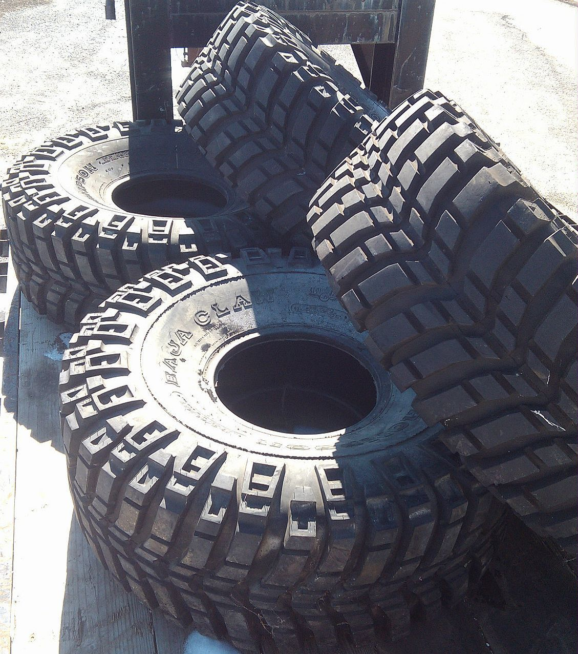 Mickey Thompson Baja Claw Tires 46 19 5 16 Used Truck Mud Rock Crawler Tires Truck Accessories Truck Tyres Hunting Truck