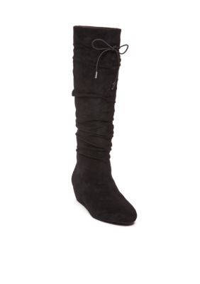 UNLISTED Black Ball of Fire Scrunch Boot