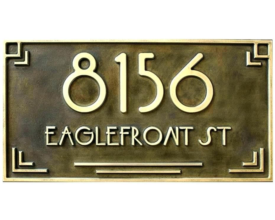 Find Great Deals On House Number Script For Script House Numbers In Home Signs And Script Style Address Custom House Numbers Lettering Design House Numbers