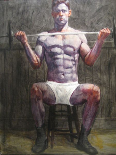 Gay lifter