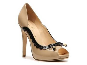 The perfect silhouette is out on the Ivanka Trump Becka. This detailed pump  has a stylish look with vintage appeal.