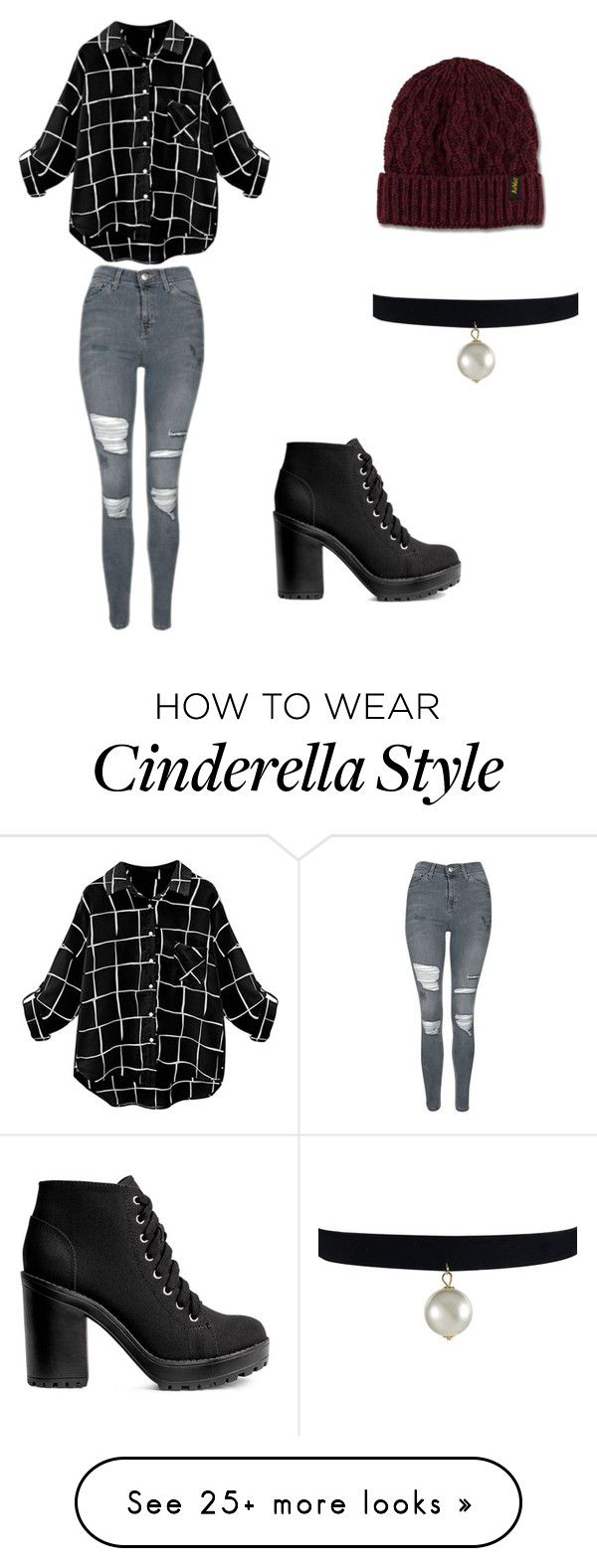 """Untitled #1"" by brenna-nc-lp on Polyvore featuring Topshop, H&M and Dr. Martens"