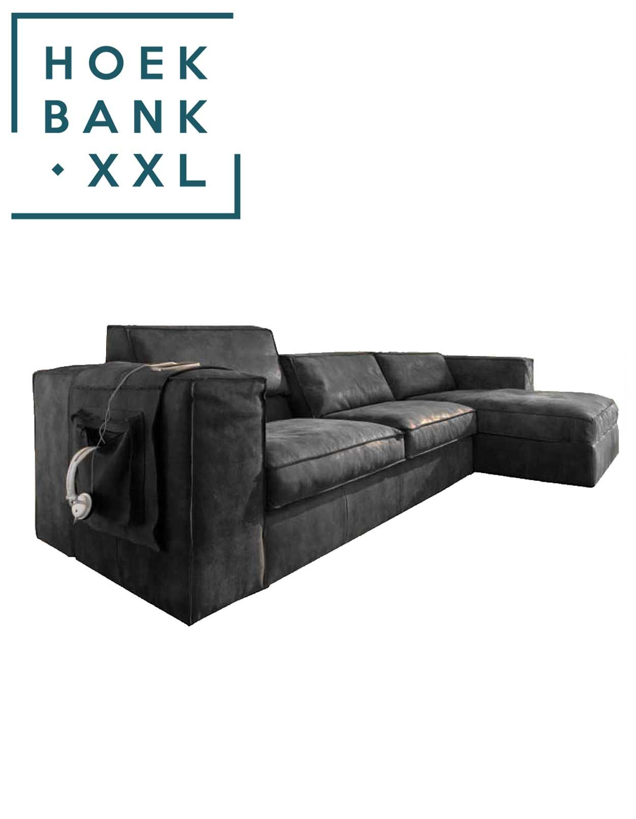 Elementenbank Sassari met longchair. Grote lounge bank verkrijgbaar ...