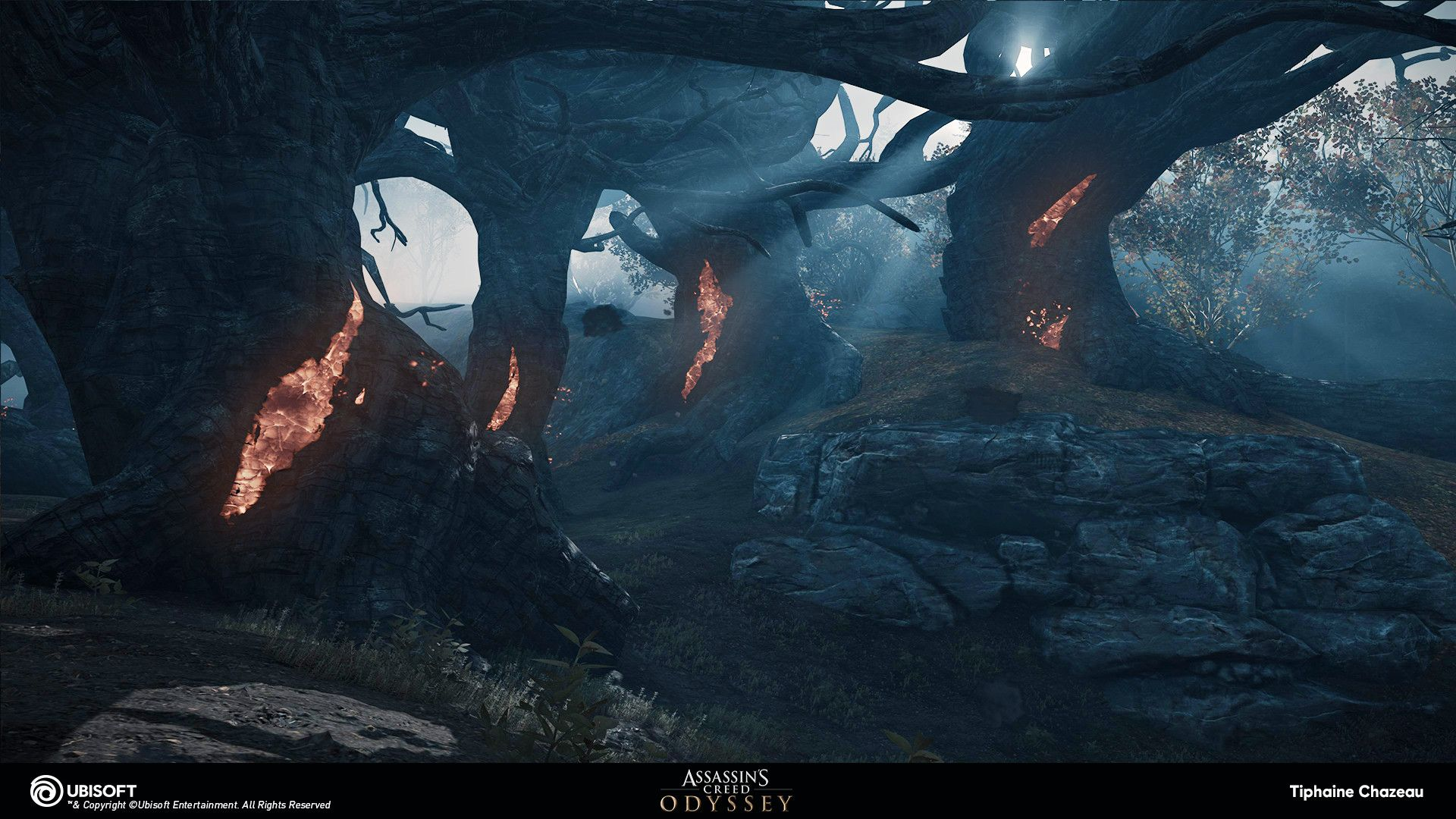 Pin By Jonah Perry On Vfx Inspiration With Images Assassins Creed Odyssey Forest Image