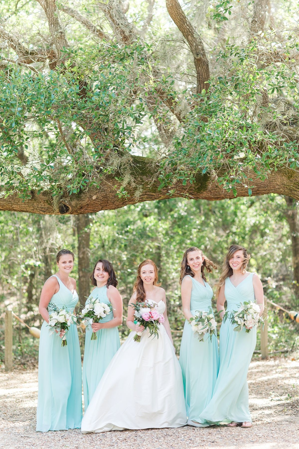 Dusty Blue Printed Floral And Misty Sage Green Mismatched Bridesmaid Dresses All Printed Bridesmaid Dresses Mixed Bridesmaid Dresses Sage Bridesmaid Dresses
