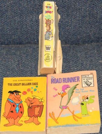 Flip books were fun you did not have to read them to enjoy them.