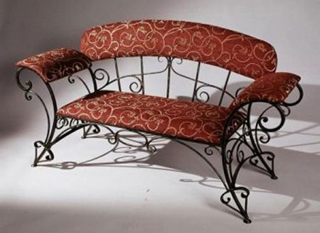 rod iron furniture. wrought iron furniture chairs and benches modern interior decorating ideas rod g
