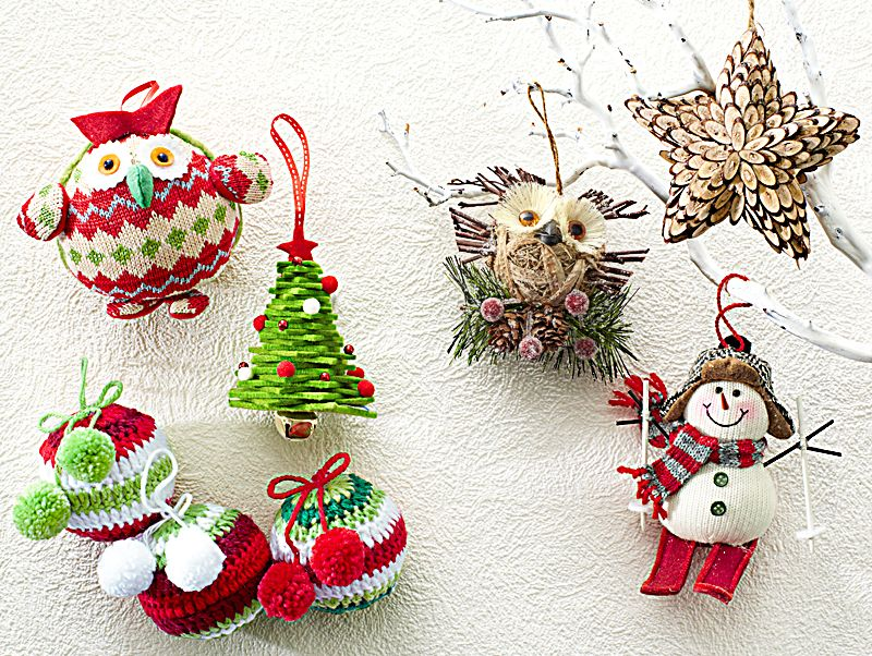 Let your tree have some fun with Pier 1 Knit Owl, Knit