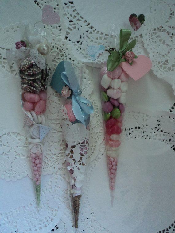 Personalised Vintage/Rustic Wedding, Tea, Hen Party Sweet