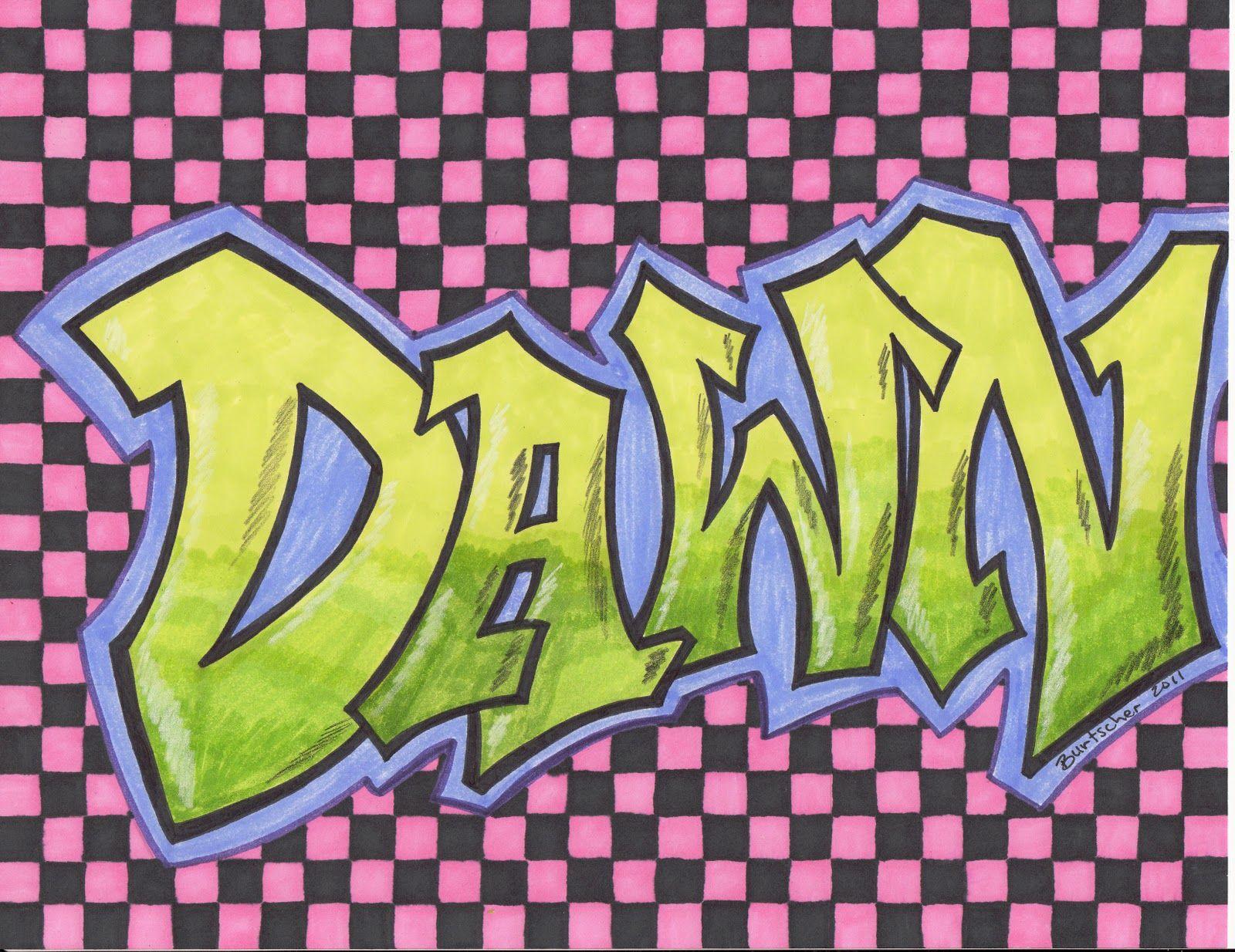 Result Graffiti Word Outline Art Education