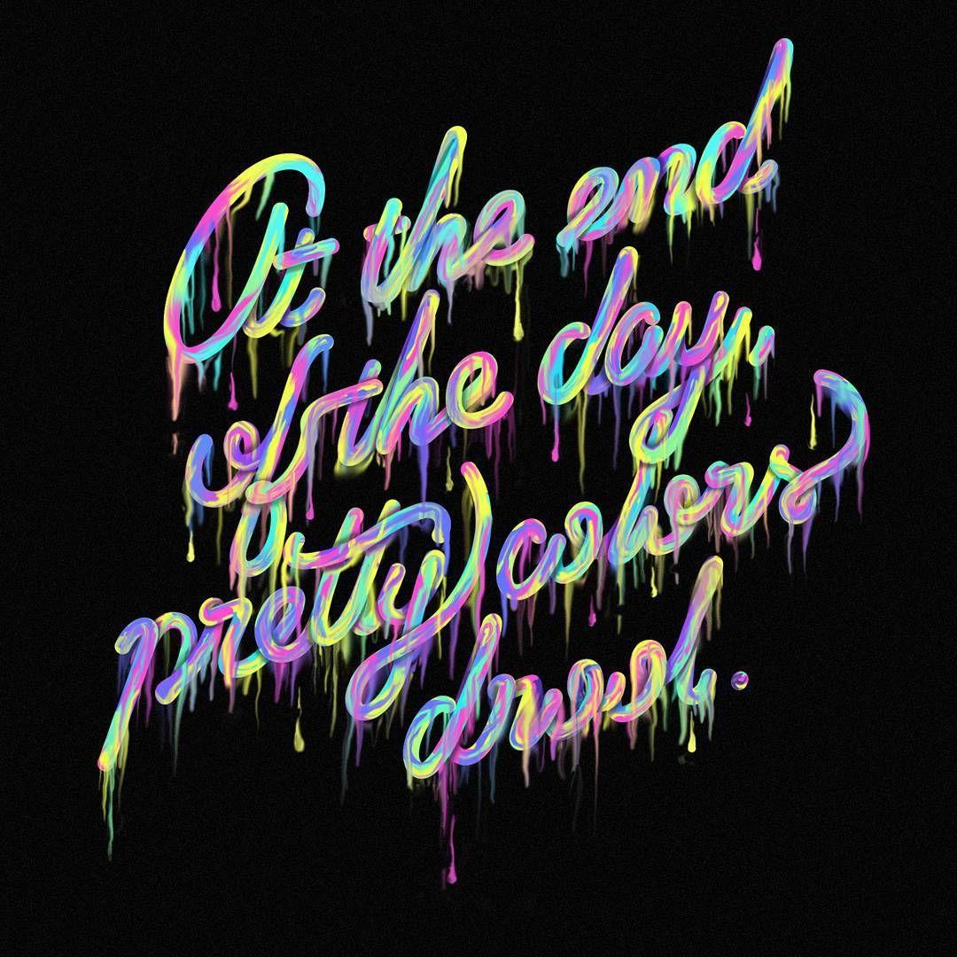 #Fail opción descartada de la #quote  de hoy #aigadesign #designquote #drool #colors #colorful #lettering #letters #vector #graphicdesign #design #vector #thedailytype #typeverything #vectortype #customtype #rainbow #photoshop #adobe #wacom #typography #typetopia #type