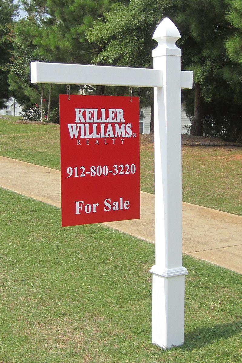 Essex Vinyl Real Estate Post Real Estate Signs Real Estate Sign Post