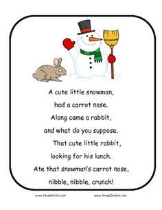 Rhymes on Pinterest | Finger Plays, Flannel Friday and Finger ...