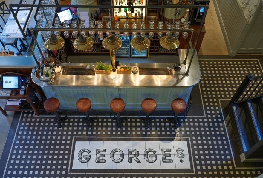 George s fish chip kitchen is an industrial designed for Interior design agency nottingham