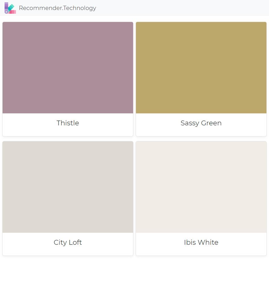 Thistle, Sassy Green, City Loft, Ibis White #cityloftsherwinwilliams