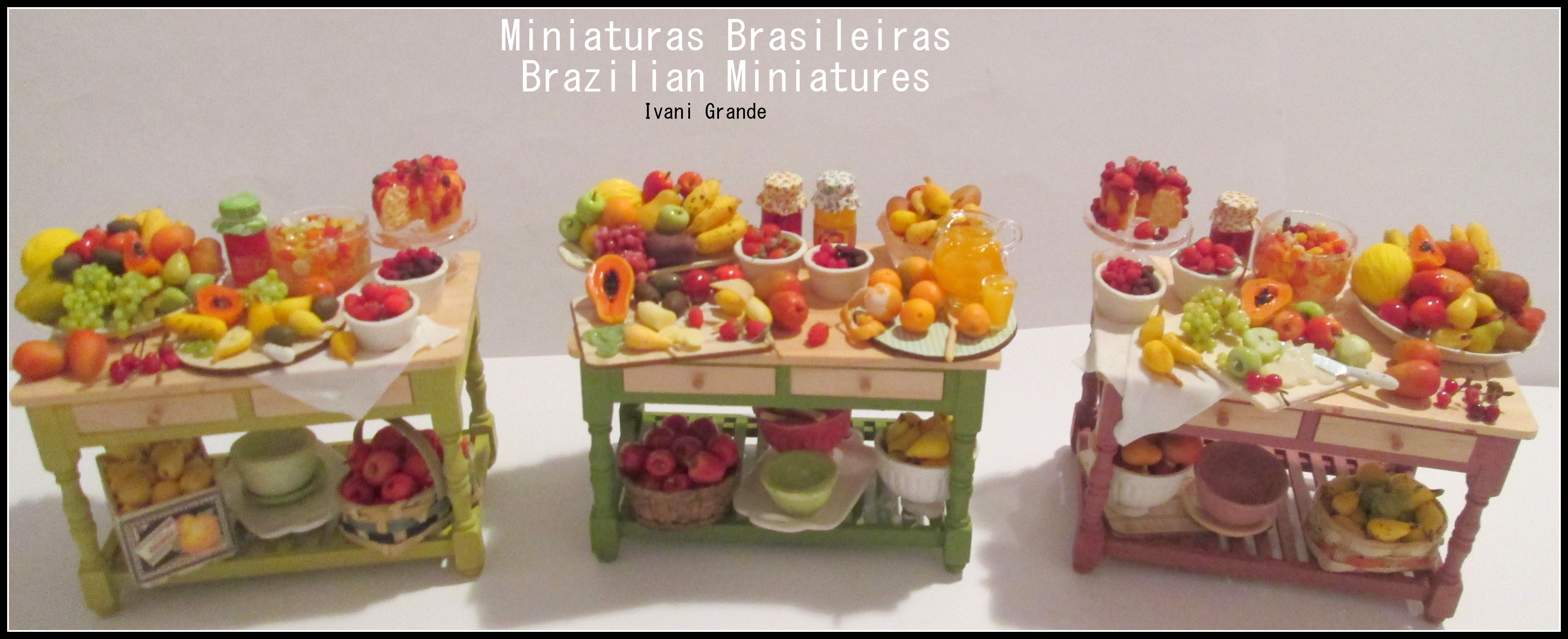 Miniaturas Brasileiras  Brazilian Miniatures   Ivani Grande