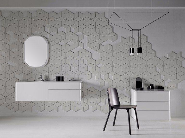 Set Da Bagno Moderno : Bathroom furniture set fluent bathroom furniture set by inbani