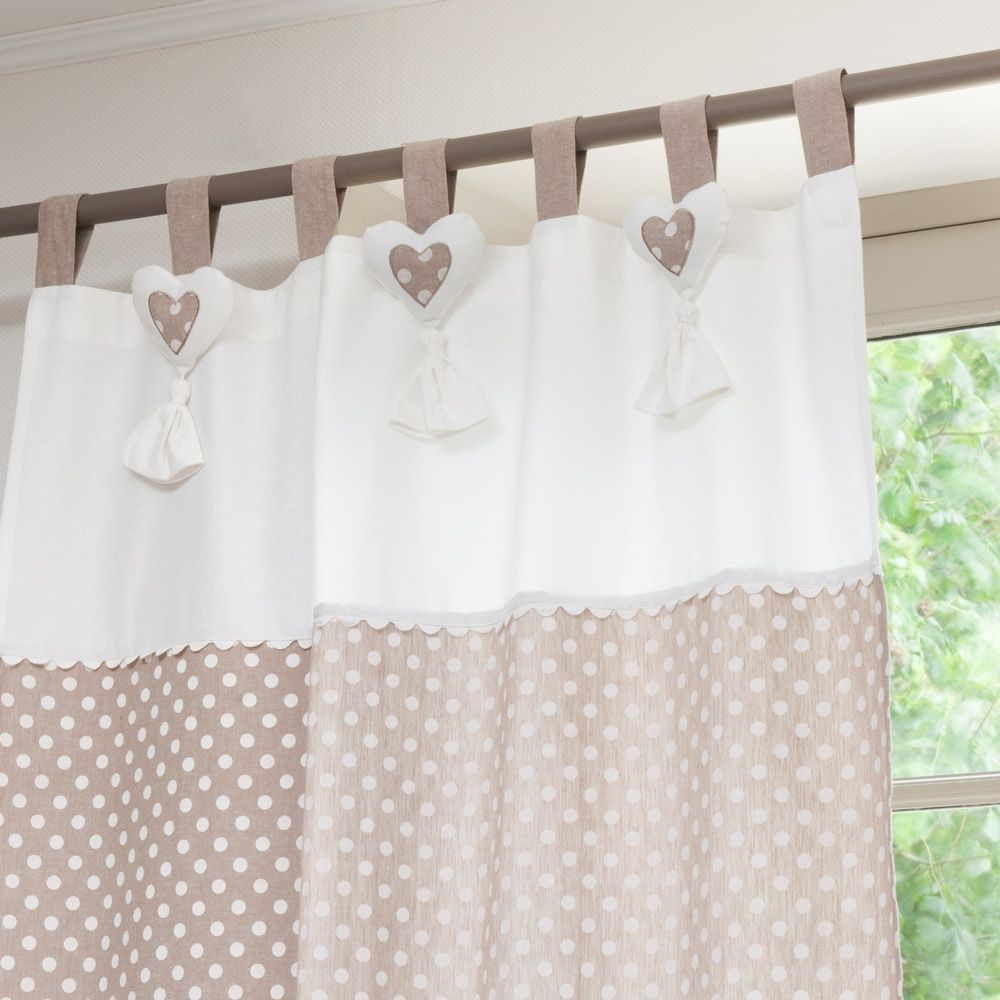 Cute window curtains - Cortina De Lunares Se Vende Por Unidad Polka Dot Curtainscute Curtainspanel Curtainskitchen Window