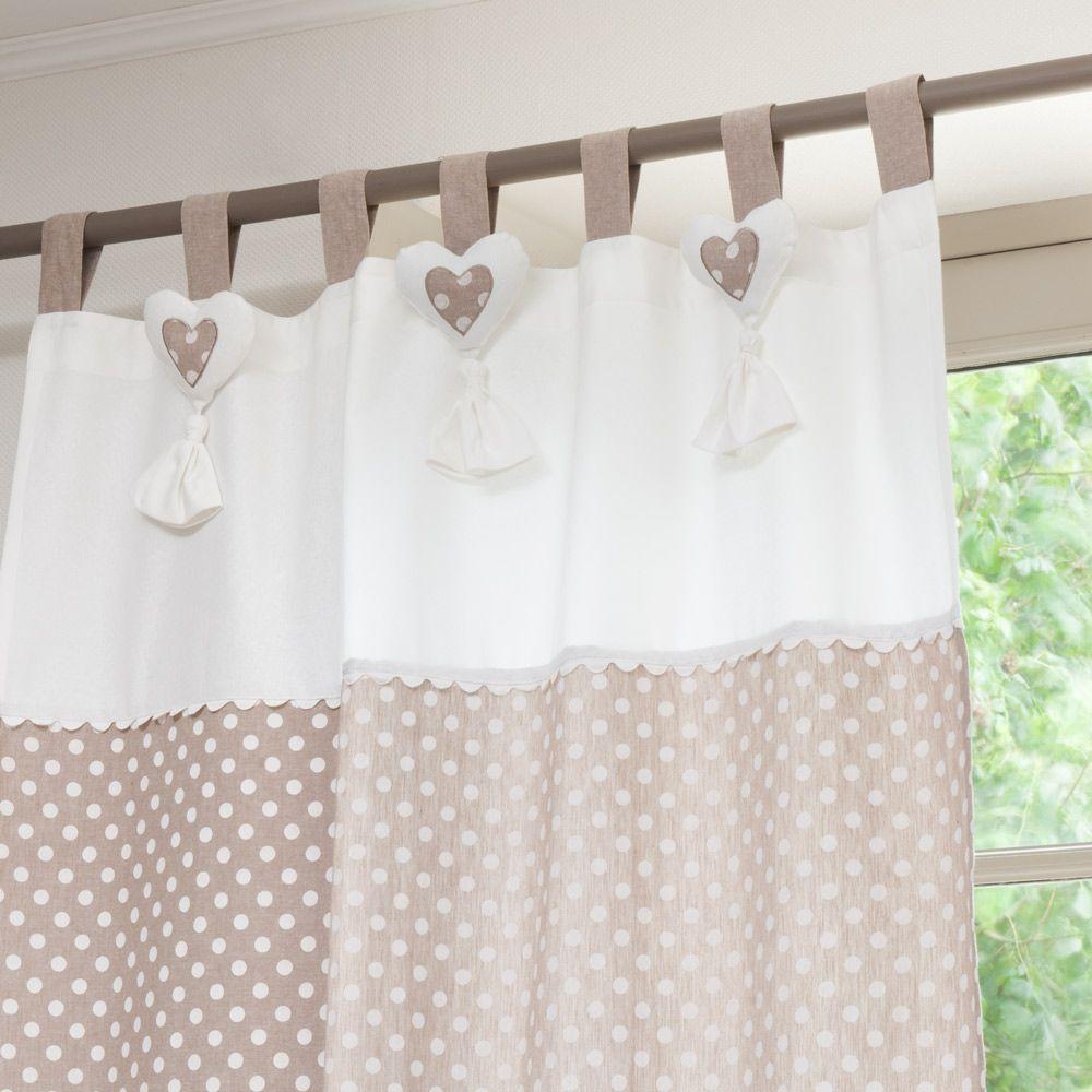 polka dots curtains | Idee casa | Pinterest | Tende, Shabby e Cucito