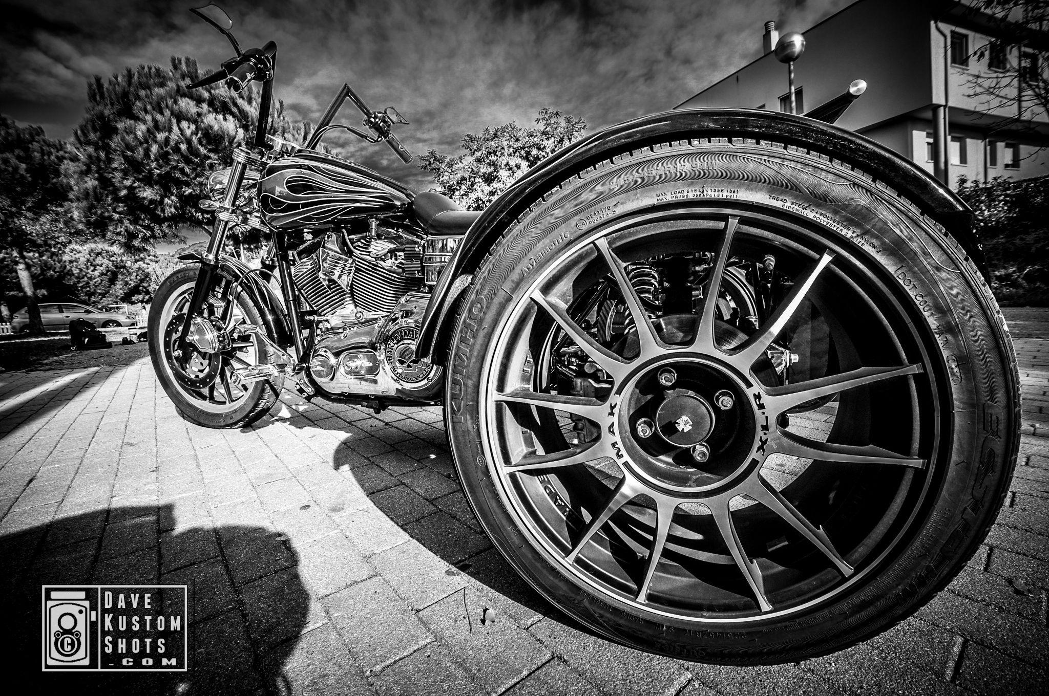 Harley-Davidson Dyna Trike by #DaveKustomShots on 500px