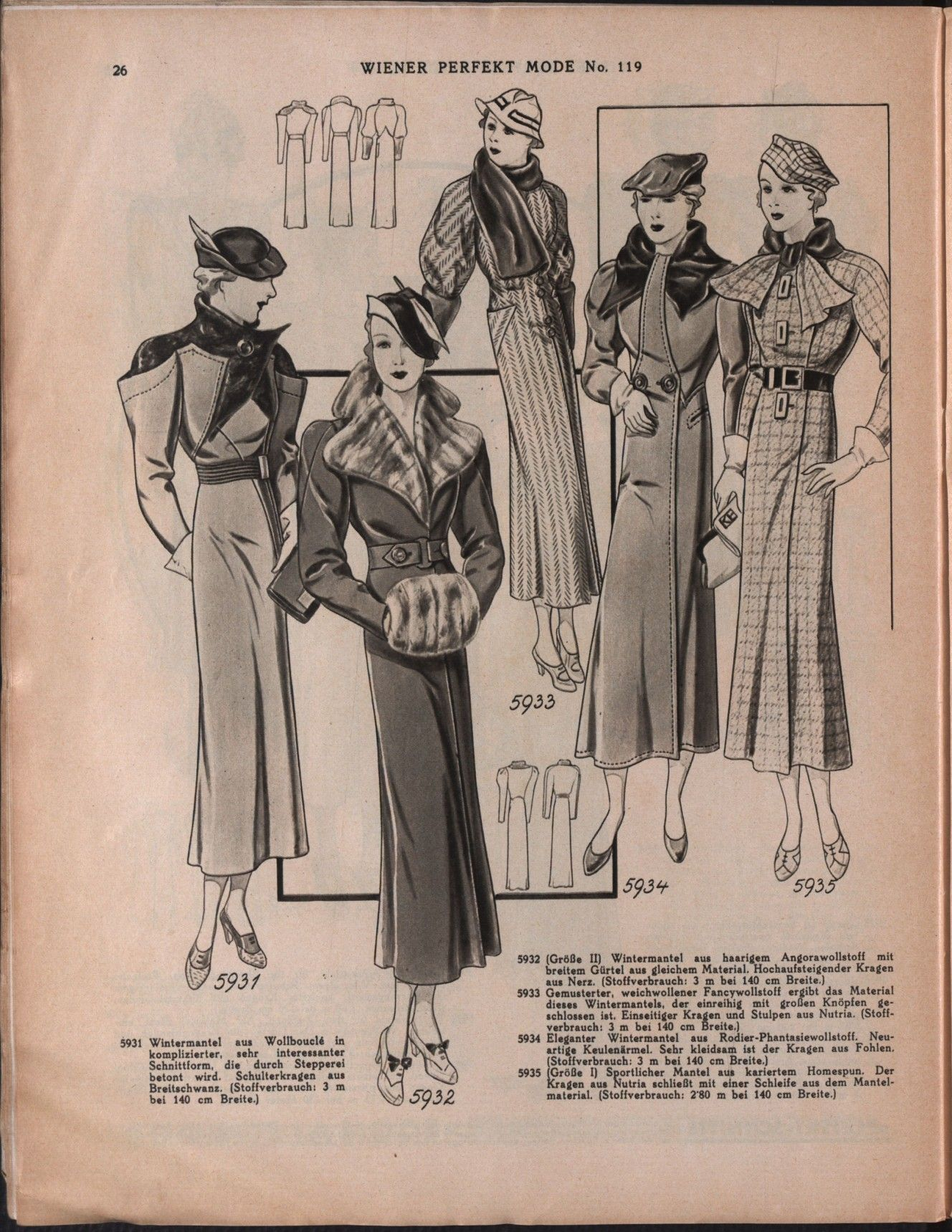 Vollanzeige Mode Des Annees 30 Mode