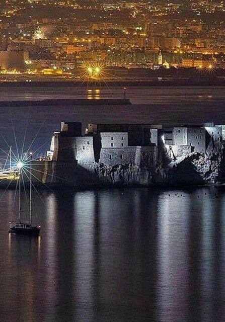 Castel dell'Ovo, Naples, Italy.