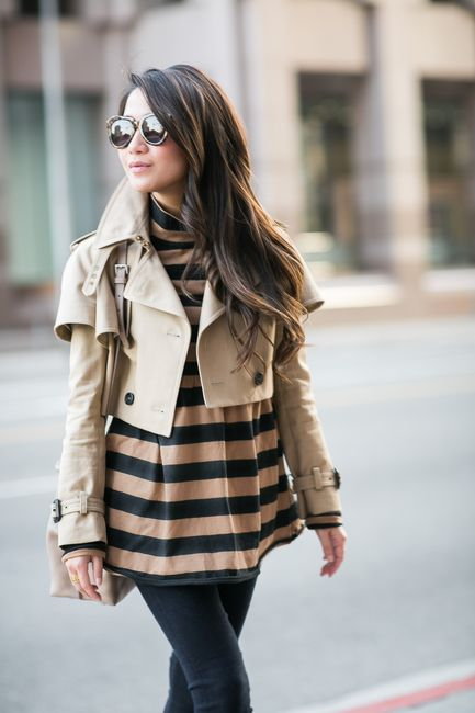 The Beauty of Beige :: Cropped trench