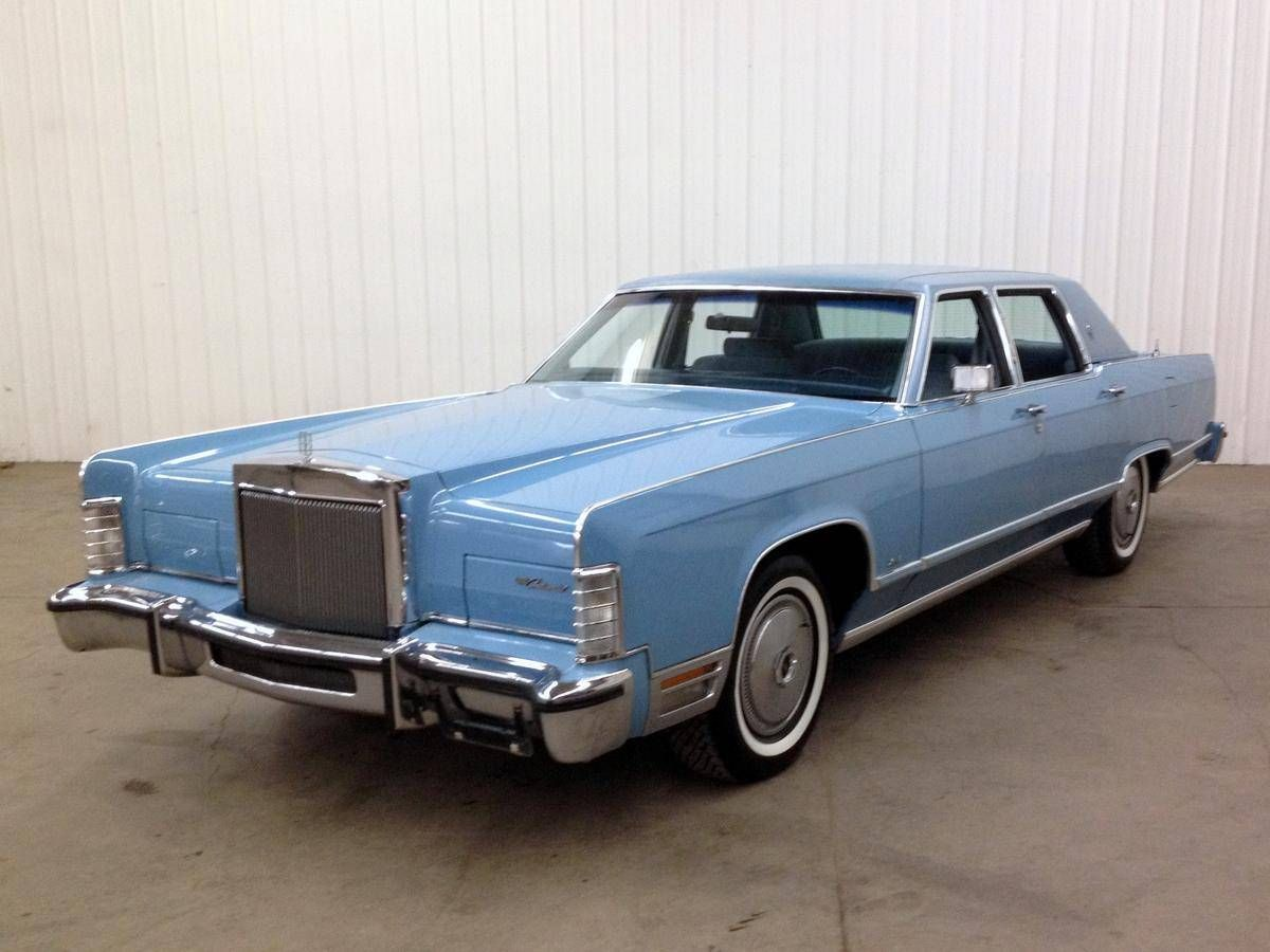 1978 Lincoln Continental Town Car Maintenance/restoration of old ...