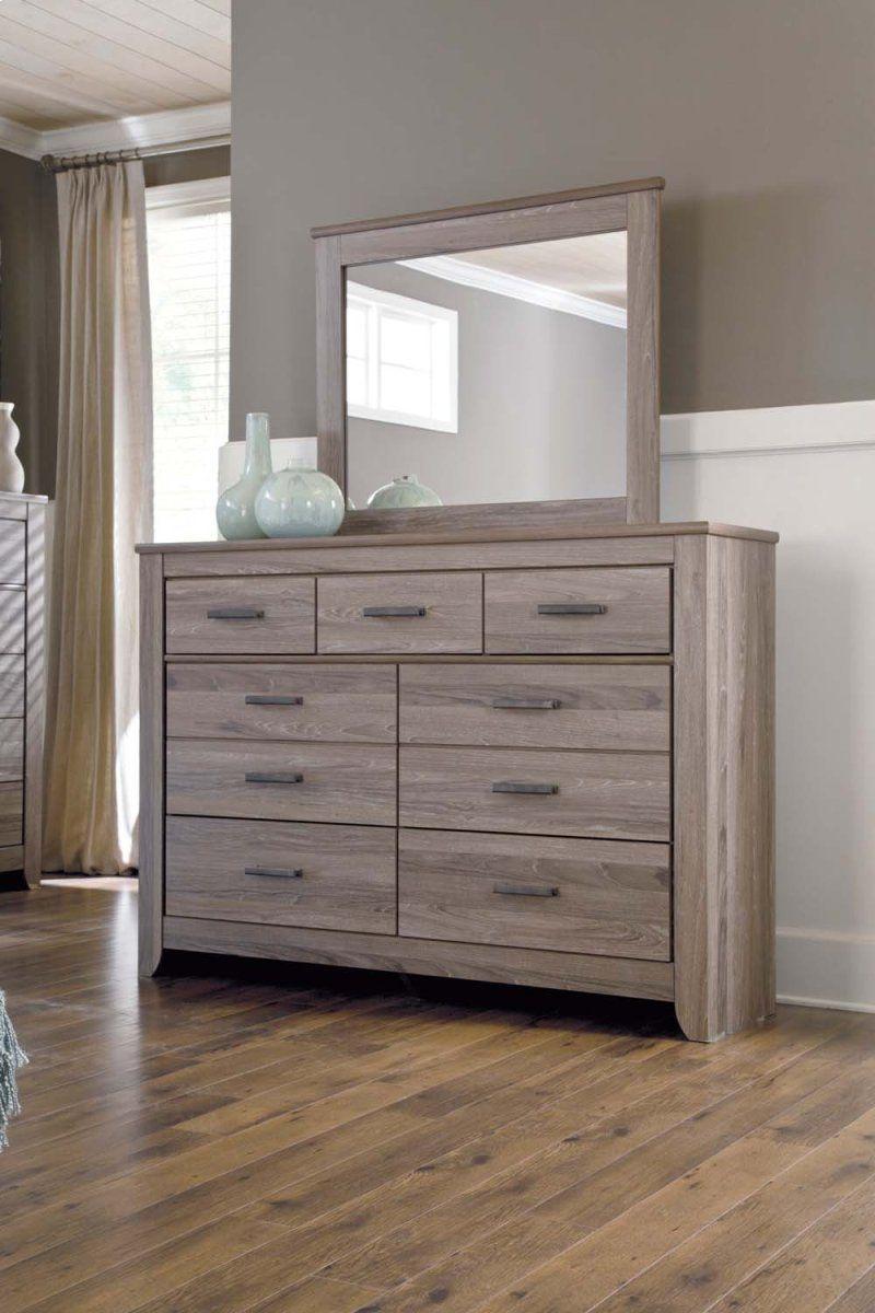 Zelen Warm Gray 2 Piece Bedroom Set Furniture, Home