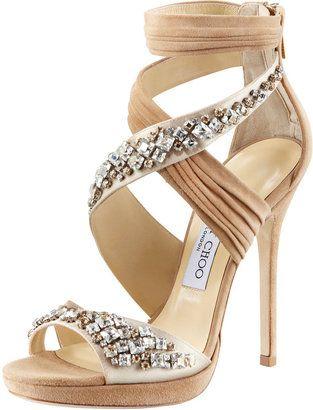 67bfae1b2e7b ShopStyle: Jimmy Choo Kani Crisscross Platform Sandal | Lust List ...