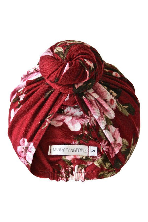 Rose Garden Mini Top Knot Turban