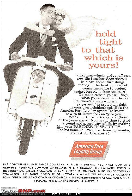 The Classic Advertisement Brochure Thread Lambretta