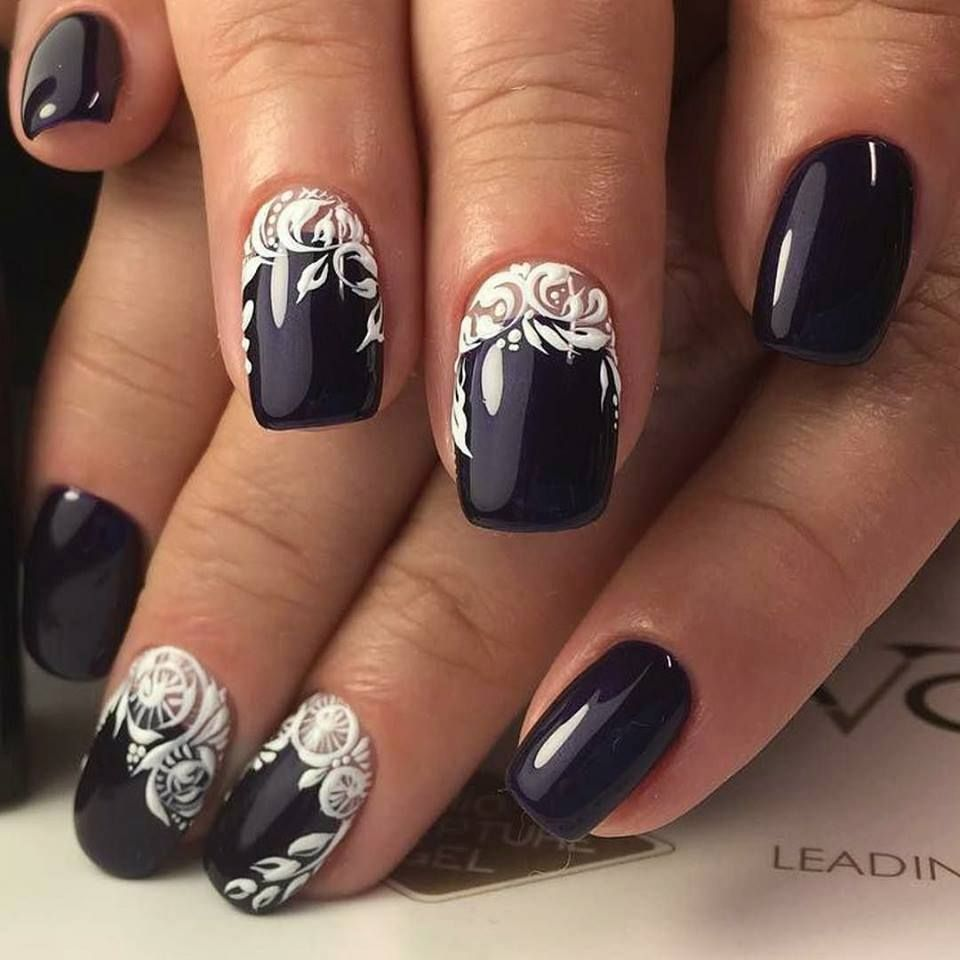 9 Fun Nail Designs for Winter | trends4everyone | Nails!! <3 ...