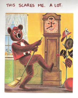 dancing bear captain kangaroo | Dancing Bear and Grandfather Clock...