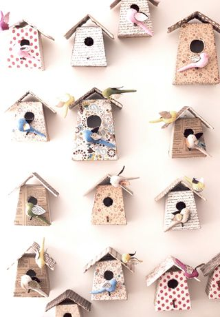 paper doll houses