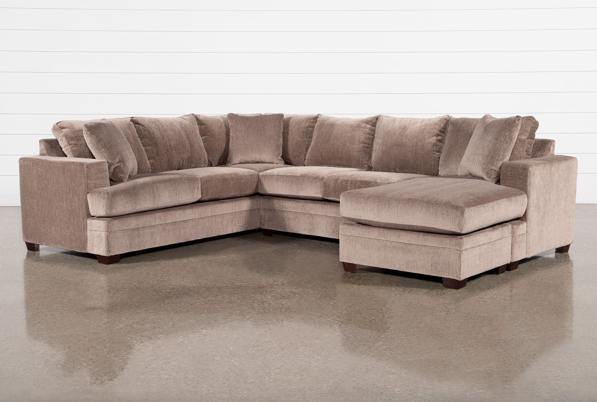 Kerri Stone 2 Piece Sectional Sofa With Right Arm Facing Sofa