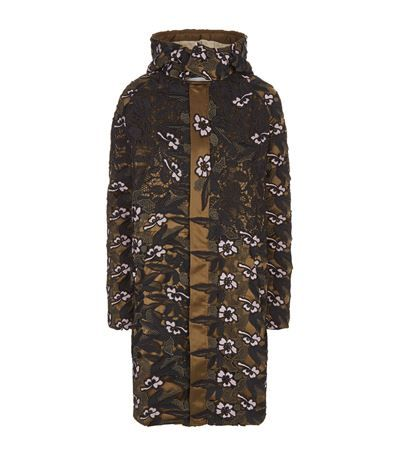 SELF-PORTRAIT Lace Parka Jacket. #self-portrait #cloth #