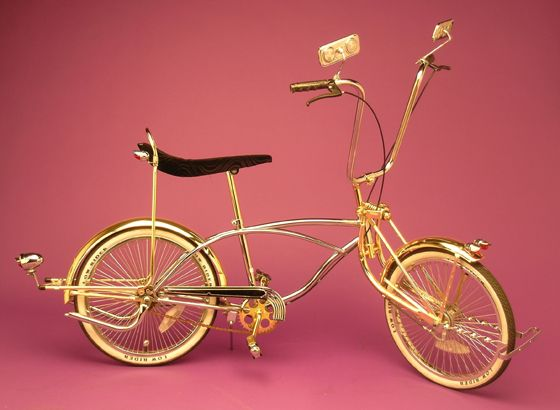 "NEW GOLD 20/""BICYCLE FRAME LOWRIDERS"