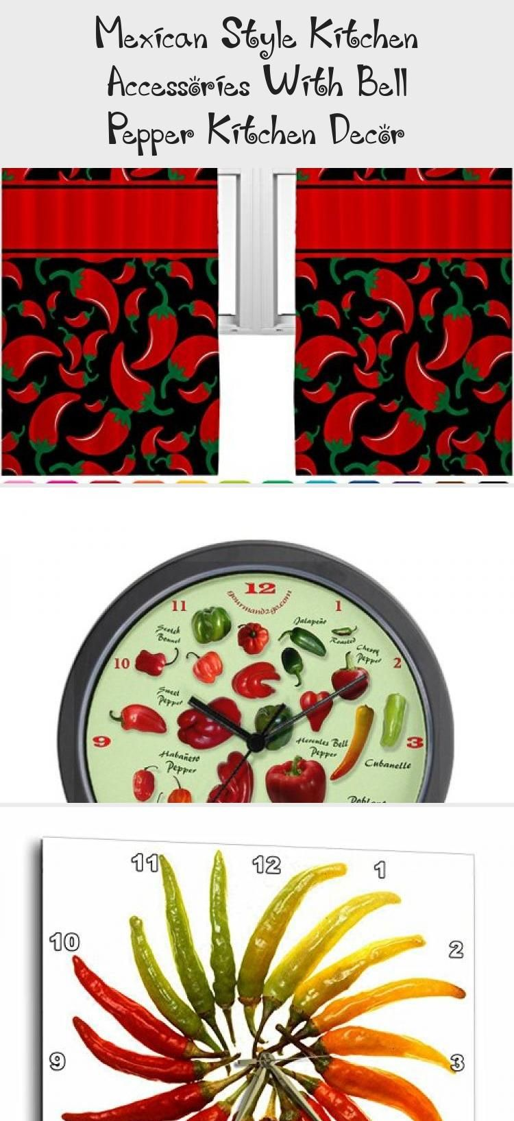 Chili Pepper Kitchen Decor Mexican Style Kitchen Accessories 2020 Kims Home Ideas Red Kitchen Accessories Kitchen Canisters Stuffed Peppers