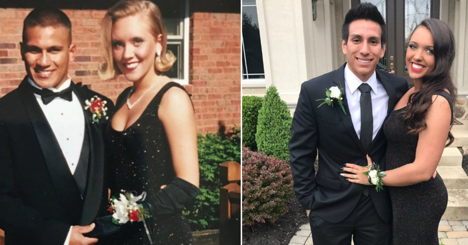 9df20fd4f4 This Teen Wore The Same Dress Her Mom Wore To Prom 22 Years Ago ...