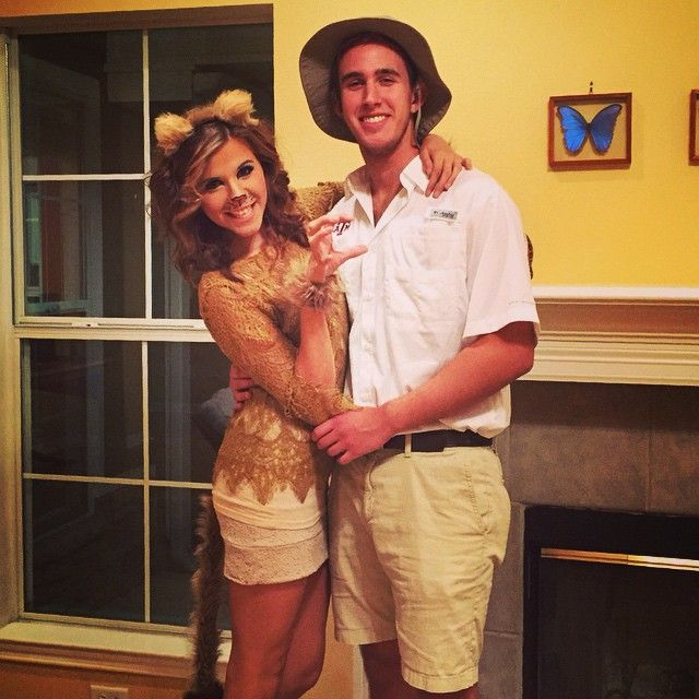 Cute Halloween Safari Couple Costume Best Couples Costumes