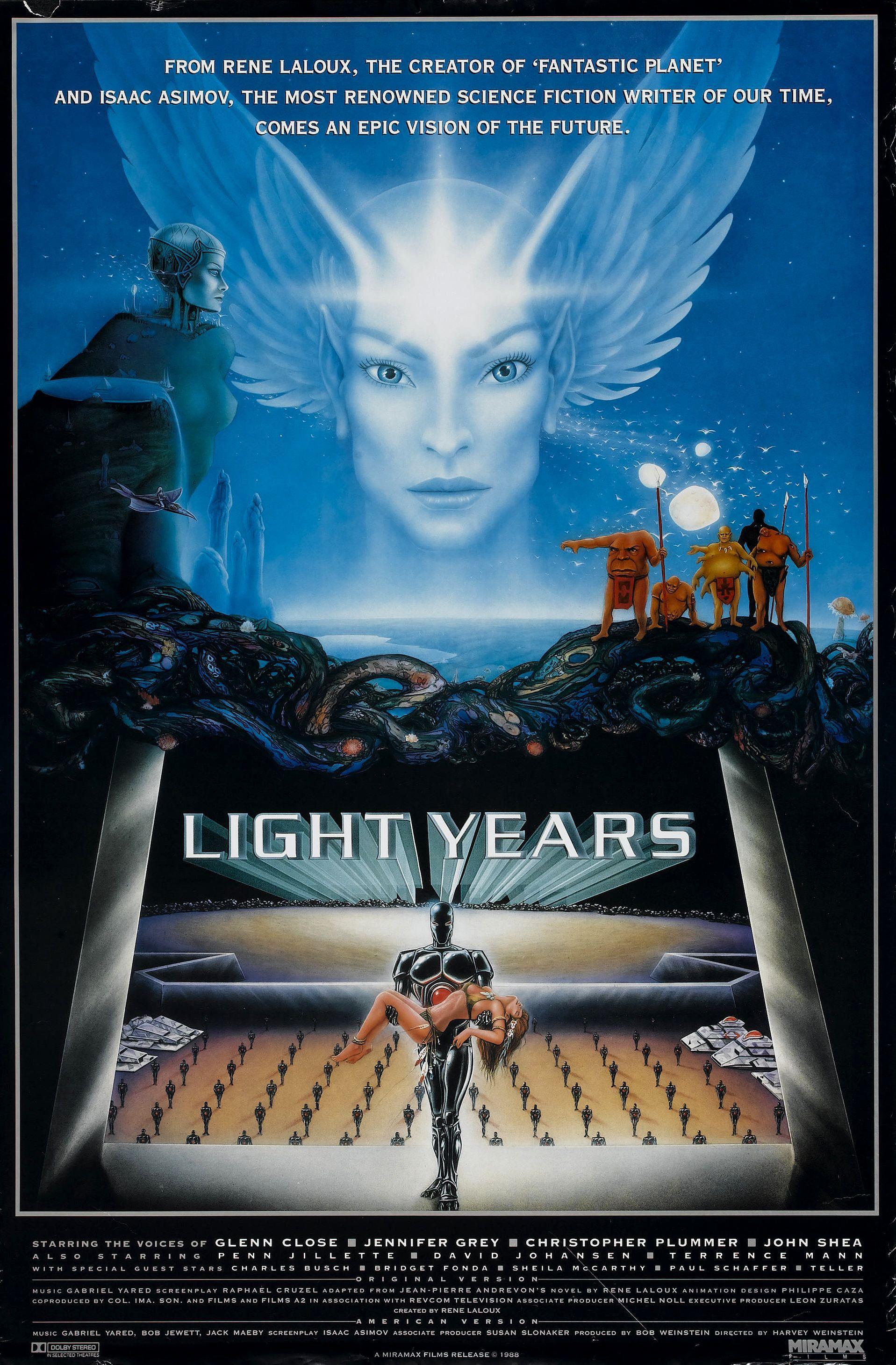Gandahar (a.k.a. Light Years) (1988) | Cinema Surreality ...