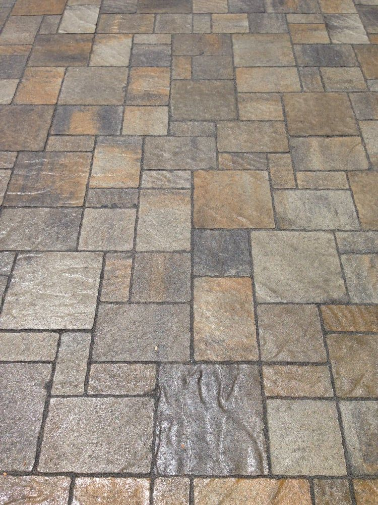 Photo Of Black Diamond Paver Stones Landscape San Mateo Ca United States Belgard Urbana In Victorian With Wet Lo Paver Patio Paver Stones Patio Flooring