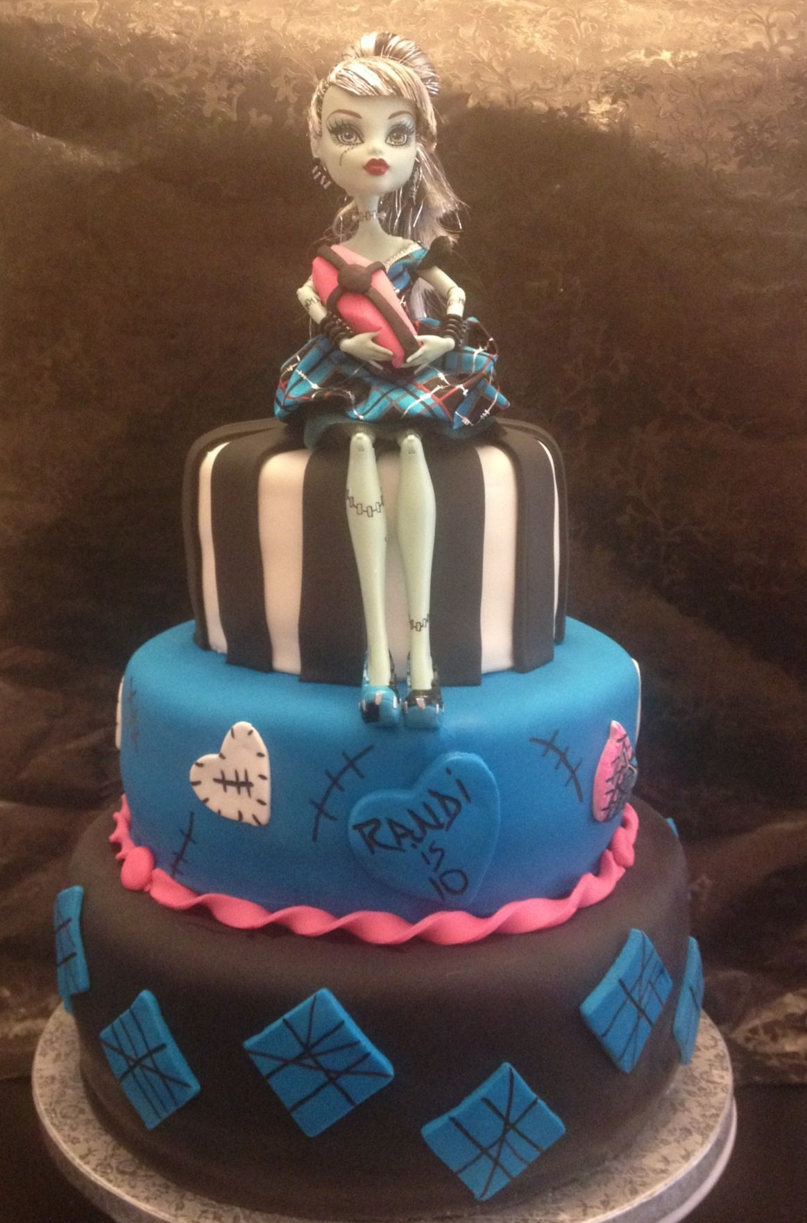 Monster High Cake Frankie Stein Monster High Www