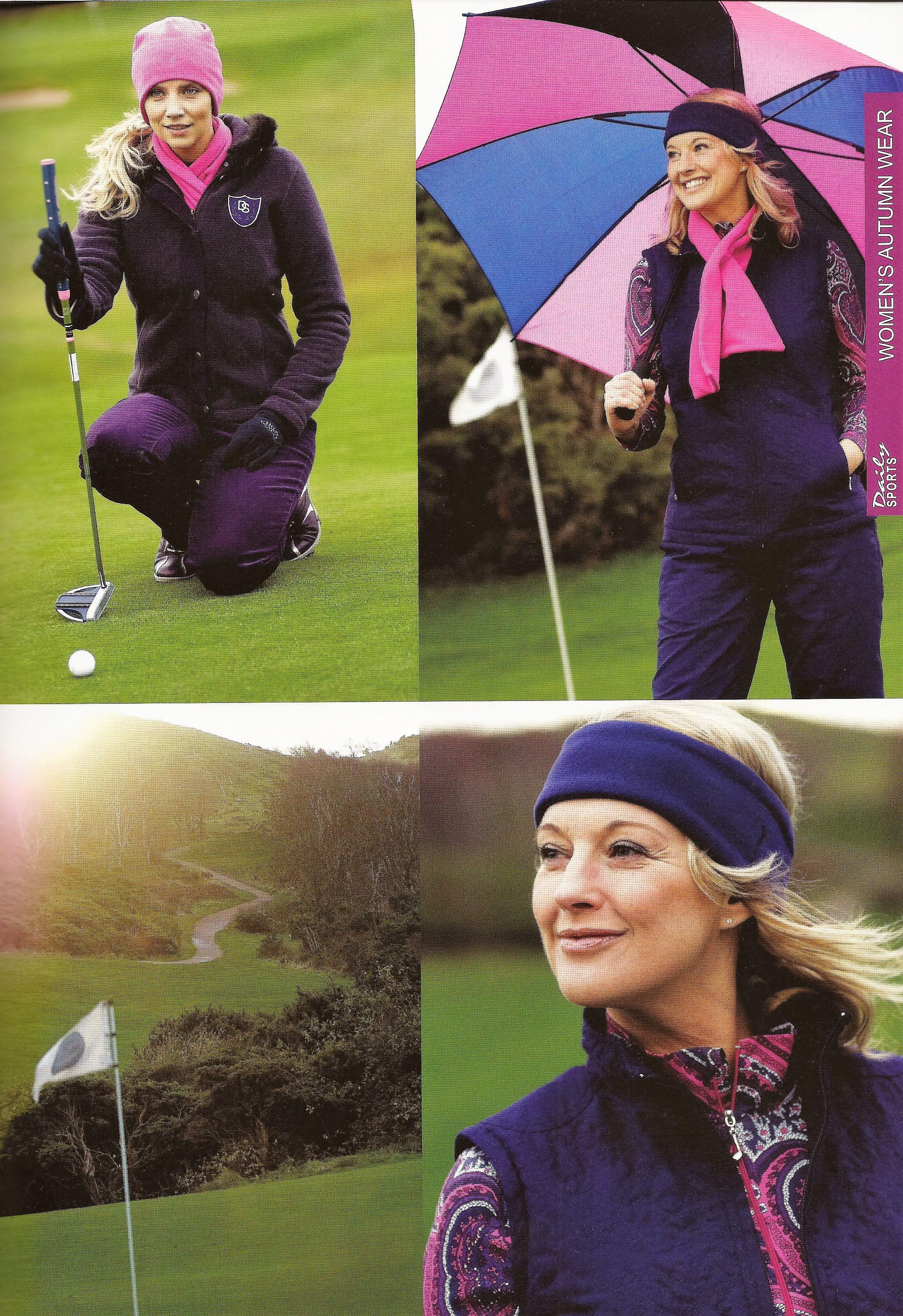 DailySports Fall 2009 GolfFashion Throwback Golf
