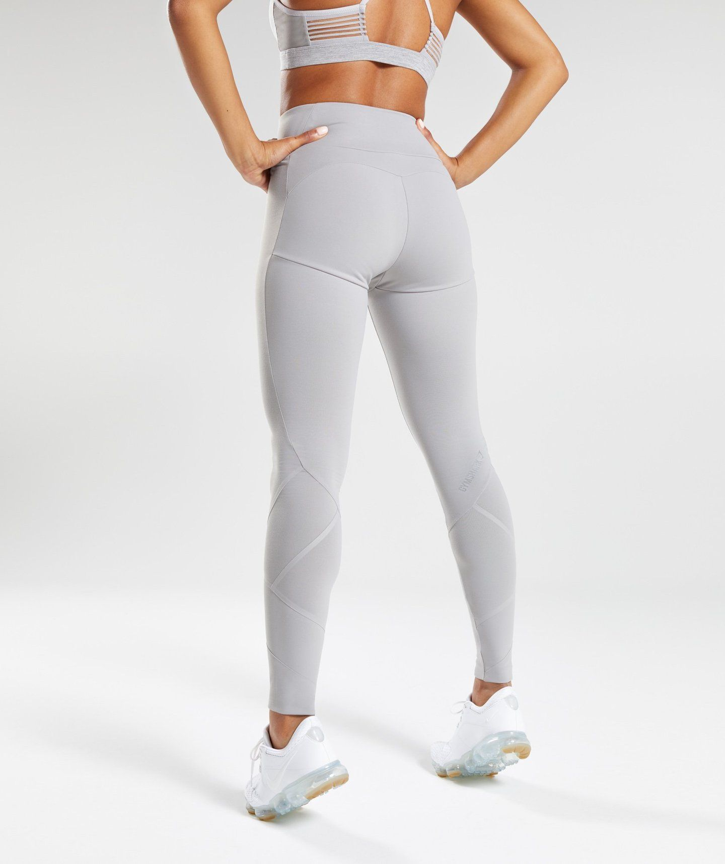 a86136faf7b87a Gymshark Fused Ankle Leggings - Light Grey 1 | clothes in 2019 ...
